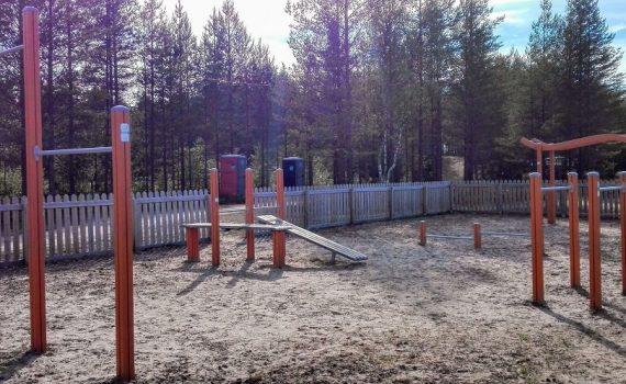 Siikajoen kunta aikuisten liikuntapuisto
