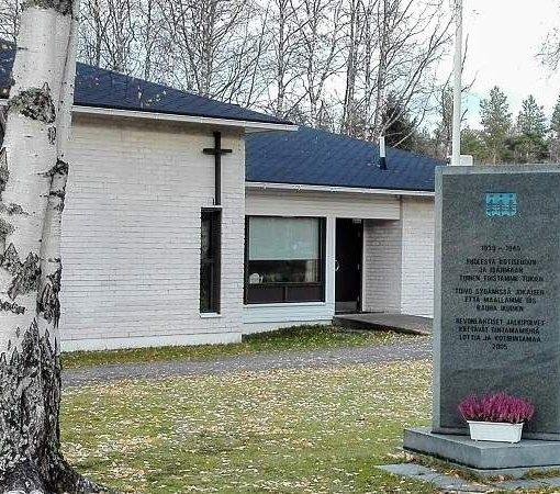 Siikajoen kunta seurakuntatalo